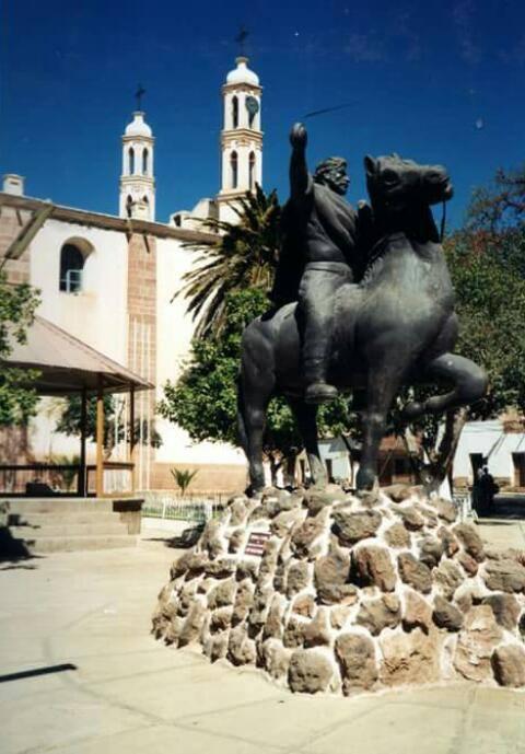 Antiguo monumento de José Vicente Camargo